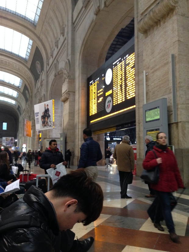 Milano Train station.