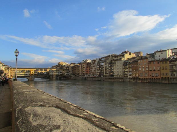 A lovely winter day in Florence.