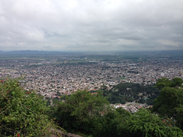 The wonderful view from the top of the hill in Salta. If you are going to do anything, it should be this.