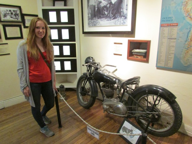 Che's Motorcycle from his famous memoirs, the Motorcycle diaries.