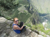 Greetings From Wayna Picchu!