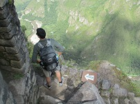 Oh yea, you have to hike back down too..